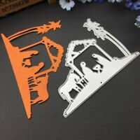 Fisherman Metal DIY Cutting Dies Scrapbooking Paper Card Embossing Craft Plsei