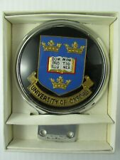 University of Oxford License plate topper metal & acrylic  Superfleas