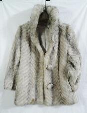 Vintage Women's Dubrowsky & Joseph Faux Fur Coat