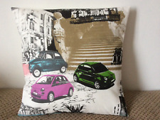 "1 NEW 16"" BUILDINGS AND CARS CUSHION COVER MADE FROM PRESTIGIOUS FABRIC"