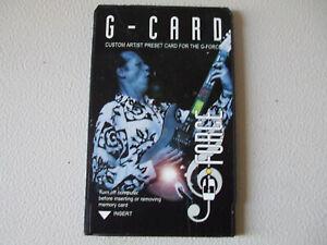 TC Electronics G-Card