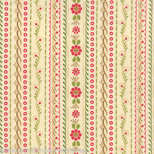 MODA Fabric ~ TOLE CHRISTMAS ~ by Gina Martin (10054 13) Parchment - by 1/2 yd