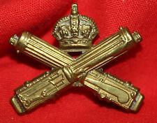C.E.F. CDN MACHINE GUN CORPS Imperial Issue Collar Badge 31-1