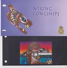 Isle of Man Presentation Pack 1998 Viking Longships Miniature Sheet 10% off 5