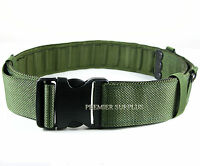 Genuine British Army Issue IRR  PLCE Olive Green Webbing Belt, NEW Size Large