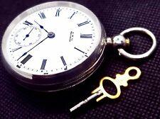 Waltham Wm Ellery Model: 1877 Working. Antique Key Wind Key Set Pocket Watch