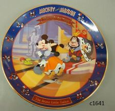 Disney Mickey & Minnie Through the Years Brave Little Tailor 1938 2nd Series Coa