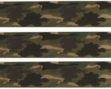 Jungle Camouflage Edible Image Design Strips Frosting Sheet