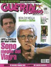 GUERIN SPORTIVO=N°40 1999=ROBERTO BAGGIO=BATISTUTA=GARRINCHA=FABIO CAPELLO