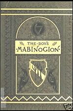 THE BOY'S MABINOGION Book on CD ~ 1880 Welsh Tales of King Arthur by S.C. Lanier