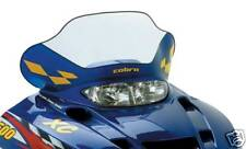 Polaris Edge Chassis - Cobra Windshield - Mid clear w/ blue base & yellow checks