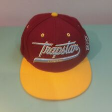 Trapstar London - Snapback Cap - Yellow/Maroon - OSFA - Good Condition