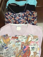 Women's Medical Scrubs Size Small.set of 5 tops
