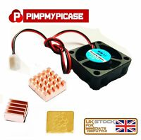 5v Fan with 3 Premium Copper Heat sinks for Raspberry Pi 3