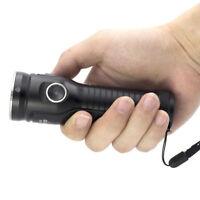 ROFIS MR70 3500Lumen CREE XHP70.2 CW LED Dual lights Flashlight w/ 26650 Battery