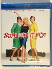 Some Like It Hot (Blu-ray Disc, 2011,)(New) Marilyn Monroe, Tony Curtis,