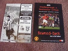 BOAVISTA v Man Utd (UEFA Champions League) 2001/2