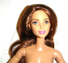 Nude Barbie Articulated Ultimate Posable Brunette Barbie For Ooak bn422