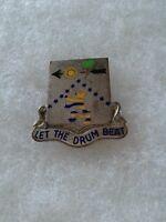 Authentic US Army 225th Infantry Regiment DI DUI Unit Crest Insignia PB