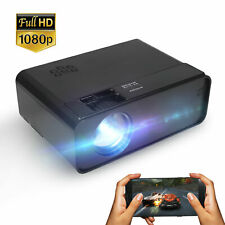 Full HD 1080p LED Portable Projector Video Movie Multimedia Home Theater Cinema