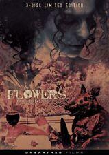 Flowers 3 disc Limited Edition DVD Unearthed Films Phil Stevens horror uncut
