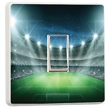 Cool Football stadium night floodlit Kids Boys light switch cover (32457955)