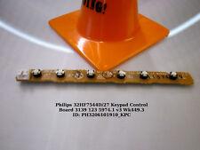Philips 32HF7544D/27 Keypad Control Board 3139 123 5974.1 v3 Wk449.3