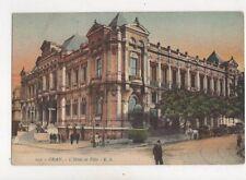 Oran Hotel De Ville [ES 259] North Africa Vintage Postcard 909a