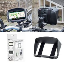 Sun Shade Visor For TomTom Rider 400 Rider 40 Motorbike Sat Nav GPS Anti Glare