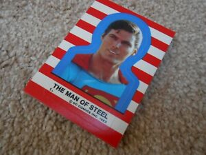 TOPPS 1983 SUPERMAN III Card Stickers Set