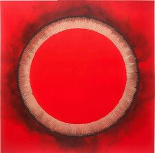 "Bernard AUBERTIN ""Dessin de feu circolaire"" , 2010 firmata"