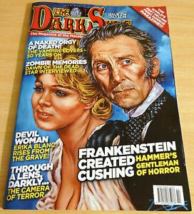 THE DARK SIDE MAGAZINE ISSUE 214 - PETER CUSHING - THE VAMPIRE LOVERS - RARE