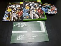 Star Wars: Battlefront II (Microsoft Xbox, 2005) COMPLETE! W/ REGISTRATION CARD!