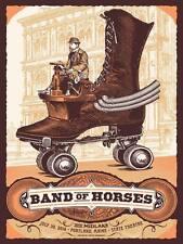 Band of Horses Gig Poster, Portland 2014 (Original Silkscreen) 18 x 24' Print