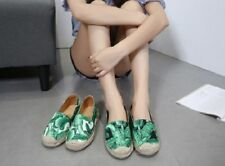 Flat (0 to 1/2 in.) Espadrilles Slip On Shoes for Women