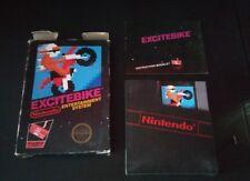 Excitebike (Nintendo Entertainment System NES, 1985) Complete In Box CIB