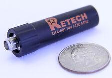 Retech Rha601 Sma-F Female Dual Band Antenna F Wouxun Baofeng Kenwood Yaesu