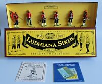 W Britains Toy Soldiers Ludhiana Sikhs Special Collectors Ed 6 Pieces Set #8832