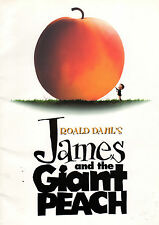 Roald Dahl's JAMES AND THE GIANT PEACH(1996)Production book. UK POST FREE