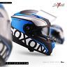 SOXON ST-1000 RACE BLUE INTEGRAL-HELM ― MOTORRAD-HELM FULL-FACE ROLLER ― XS–XXL