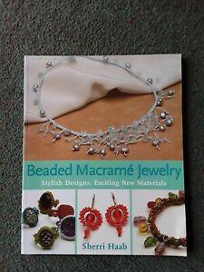 Book Beaded Macrame Jewellery