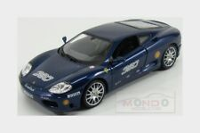 Ferrari 360 Modena #360 Racing 2003 Blue Met Burago 1:24 BU26304BL
