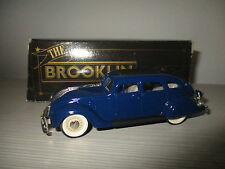 CHRYSLER AIRFLOW 1934 N.7 BROOKLIN COLLECTION  SCALA 1:43