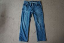 Mens Blue Gap Straight Fit Jeans Size 34 32
