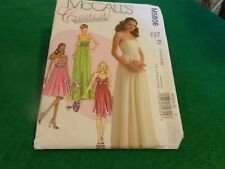 MCCALLS SEWING PATTERN CREAT IT DRESS FORMAL SIZE 14-20  5806