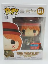 FUNKO POP HARRY POTTER 121 RON WEASLEY AT WORLD CUP NYCC 2020 NEW w/ PROTECTOR