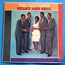 The Cleftones-Heart And Soul-1961 Gee Mono Deep Groove-Flat Edge-M-/VG+ Doo-Wop