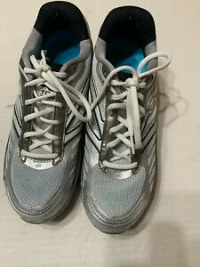 Skechers Shape Ups Toners KTP Womens Shoes Gray/Silver/Blue Size 8
