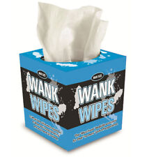 Wank Wipes Tissues Stag Do Office Party Secret Santa Gift Funny Novelty  DP0784