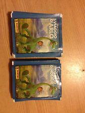 10 packs stickers Disney The Good Dinosaur 2015 Unopened PANINI